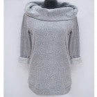 Übergroßes Damen Sweatshirt (M-2XL), Kapuze, 4847