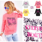 A870 Womens Sweatshirt, Print: Everyday Beautiful