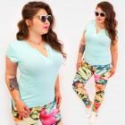 4580 Women's Basic Blouse, Plus Size, Fashiona