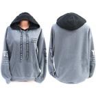 Women Hoodie, Oversize, Classic Design, S-XL, 5205
