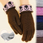 C17454 Charming Women Gloves, Warm Wool