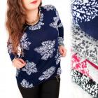 C11457 Lovely Blouse, Warm Tunic, Plus Size
