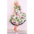 C17523 Plus Size Ladies Dress, Oversize