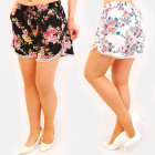 C17601 Women's Summer Shorts, Loose Fit, Flowe