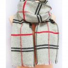B11479 Big Scarf, Plaid, Shawl, Warm Knitwear
