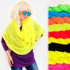 FL677 Spring Women Scarf, Shawl, Neon Colors