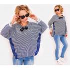BI755 Loose Blouse, Shirt, Kimono Blouse, Lace