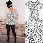4635 Cotton Shirt, Top, Blouse, Animal Look
