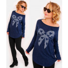 R111 Comfortable Tunic Oversize: Large Bow