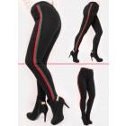 C17530 Slimming Women Pants, High Waist, Stripes