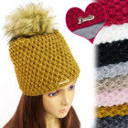 FL662 Winter Hat With Fleece, Nice Weave