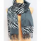 B11454 Big, Scarf, Plaid, Scarf, Warm Knitwear