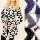 C17237 Great Coat, Long Cardigan, Autumn Sweater