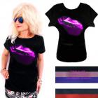 Ladies Shirt, Blouse, M-XL, Sexi Lips, 5445