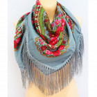 B11495 Grand foulard, châle, écharpe, tricots chau