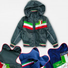 A19173 Boys' Fleece Jacket, ITALIA 4-12