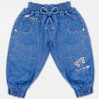 A19114 Girls' Haremy Pants, Sequins, 2-10 year