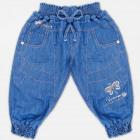 A19114 Pantaloni Haremy da bambina, paillettes, 2-