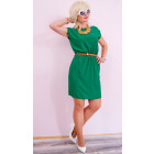 D1452 Summer Dress, Envelope V-neck