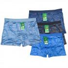 Bambus Herren Boxershorts, M-2XL, Muster, 568