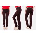 B16781 Classic Women Plus Size Jeans, Brownie