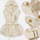 A19229 Robe, tunique pour filles, coton 4-12 ans