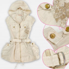 A19229 Dress, Girls Tunic, coton 4-12 years