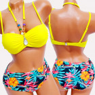 4629 Summer Swimsuit, Tropic, With Jewelry