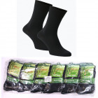 Men's Socks, coton , Black 39-46, 4980