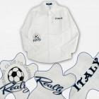 A19227 Boy White Shirt, Italien, 4-14 Jahre
