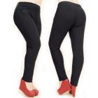 Winter, Warm Women Pants, Elegant, L-5XL, 5021