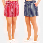 C17606 Slimming Shorts, Loose Fit, Belts
