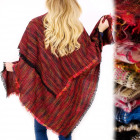 B16604 Showy Melange Scarf XXL, Shawl for Winter