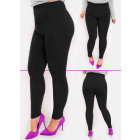 Bamboo Leggings With Fur, 4XL-6XL, 5017