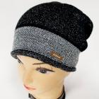 CZ22 Warm Women Cap, Hat, Silver Belt