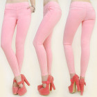A1922 Women Pants, Jeans, Treggins, Candy Pink