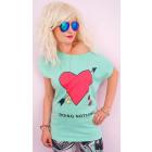 K528 Cotton Women T-Shirt , Top, Doing Nothing