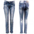 Damen Jeans, 34-42, Klassischer Schnitt, B16882
