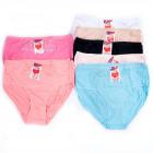 Cotton Womens Panties, XL-3XL, Spitze, 4997