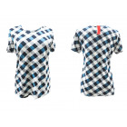 Women Shirt, Blouse, Plus Size, M-3XL Check, 5422