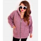 EM29 Women Plus Size Jacket, Kimono, Boucle WRZ