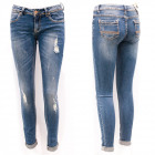 Women Jeans with holes, 25-30, B16889