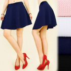 C11261 Trendy, Flared Skirt, 3D material