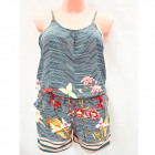 Summer Set, Top and Shorts, S-XL, C17825