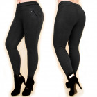 Winter, Warm Women Pants, Elegant, L-5XL, 5023