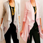 D14115 Long Sweatshirt Cardigan, Jacket, Cardigan