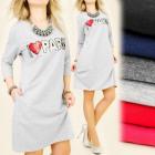 BI208 DRESS DRESS, TUNIKA, I Love Paris