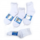 Herrensocken, Baumwolle , Sport White 40-46, 5857