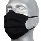 Masque protecteur, noir, caoutchouc.