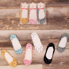 4551 Women Socks, Feets, Ballerinas, Hearts 35-42